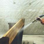 Kirchenbänke - Reinigung mit dem Niederdruck-Strahlverfahren